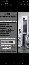 Conserto Geladeira e Freezer na grande BH - Manutenção Geladeira e Freezer