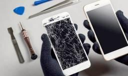 Tela do seu celular quebrou