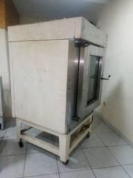 Um forno industrial