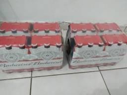 Vendo cada caixa de longneck Budweiser a R$85