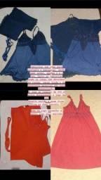 Título do anúncio: Camisolas com robe para gestante e puerperas