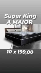 Título do anúncio: cama super king