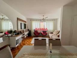 Título do anúncio: Apartamento com 3 dormitórios à venda, 132 m² por R$ 710.000,00 - Gonzaga - Santos/SP