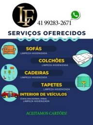 LF higienização de seu estofados