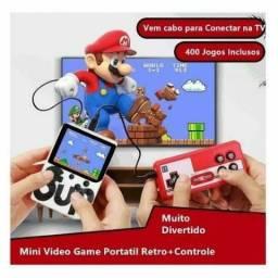 Mini Game 400 Jogos com Controle
