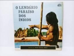 Lp Vinil Johan Dalgas Frisch O Lendário Paraíso Dos Índios