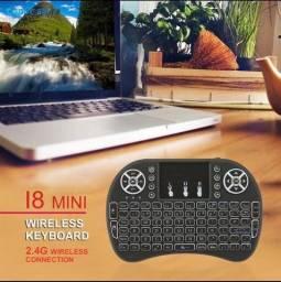 Mini teclado remoto sem fio