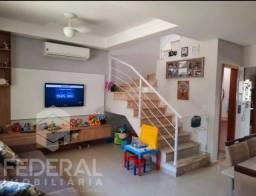 Título do anúncio: Casa de Condomínio à Venda - 119m² a.c. - Sobrado - Churrasqueira - 3 quartos (1 suíte)