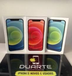 iPhone 12 128GB, NOVO, 1 Ano de Garantia mundial