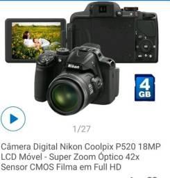 Câmera digital coolpix P520 42X