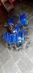 Quadriciculo 49cc para crianças