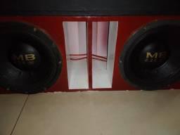 2 alto-falantes MB 2.2 k