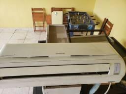 Ar condicionado split samsung 18.000 btus com defeito