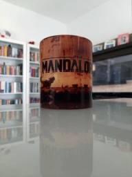 Caneca porcelana personalizada Mandalorian