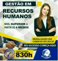 Título do anúncio: Faça já o Curso Superior Sequencial Gestão em Recursos Humanos.