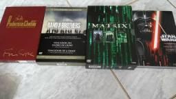 Pacote trilogias e serie