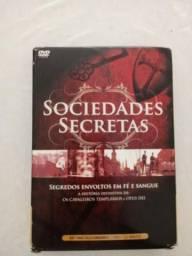 Box de DVD's - Sociedades Secretas