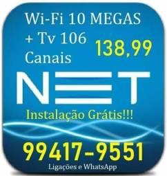 Wifi 35 megas com instalação grátis