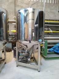 Fermentador para cerveja 250L úteis em inox 304 aisi