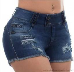 Short pit bull jeans