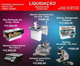 Balcão expositor refrigerado/equipamentos comerciais/ checkout
