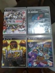 Jogos originais usados para PS3