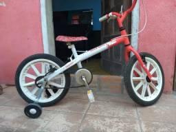 Bicicleta aro 16 seminova