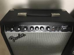 Amplificador fender frontman 25 R estado de novo