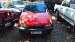Palio 2000 vermelha 1.0 mpfi nova - 2000