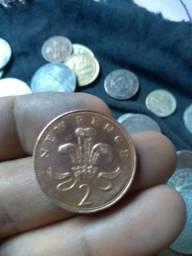 Cédulas é moedas