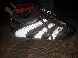 49b5ebf250 Vendo Chuteira Botinha Society Adidas