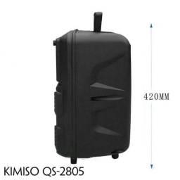 Caixa de som Kimiso Qs ? 2805 amplificadora 2000W