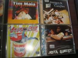 CD nacionais, mpb, lote com 40 cds, Tim Maia, Roberto Carlos, Mutantes, Carmem Silva,