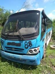 Micro ônibus ar condicionado sucata 2009