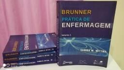 Combo Livros do Brunner Prática em Enfermagem