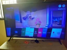 TV smart LG de 43 plg