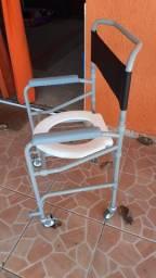 Cadeira de banho/higiênica para pós operatório