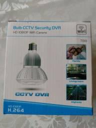 Câmera espiã lâmpada LED Wi-Fi