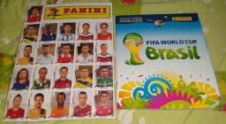 Album Copa do Mundo 2014 Completo + Kit de Atualização