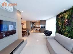 Apartamento novo à venda no Edifício Splendia Tower, 03 suítes, mobiliado, equipado e deco