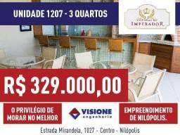 Vivendas do Imperador - Unidade 1207 - 3 quartos - Nilópolis, RJ