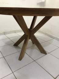 Mesa 100% madeira demolição
