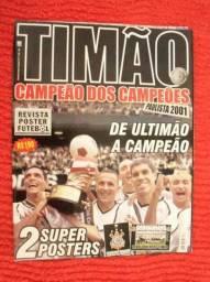 Revista Poster, Corinthians - De Ultimão A Campeão (2001)