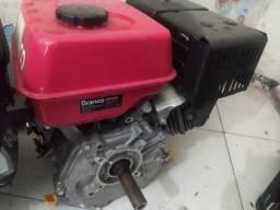 Motor Gasolina 8.5 Hp Branco Estacionário Partida Manual<br><br>
