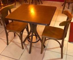 Conjunto Bistrô 1 Mesa + 2 Cadeiras Artesian