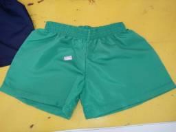 Kit Com 10 Shorts Masculino Infantil Tactel Preço De Fabrica