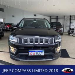 Jeep Compass Limited 2018 Baixo km Aceito trocas e Financio