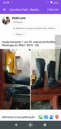 Usada Somente 1 vez 39  marca:comfortflex<br>Whatsapp *  160