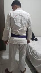 Kimono pitbull A1 branco e preto