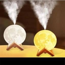 Umidificador de ar em formato de lua cheia